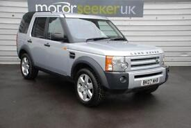 2007 Land Rover Discovery 2.7 Td V6 XS 5dr Auto 2 OWNERS FULL HISTORY SAT NAV...