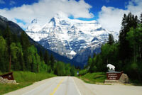 Park Operator at Mount Robson