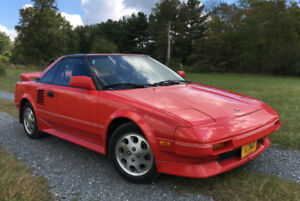 1988 Toyota MR2 MK1 Coupe (2 door)