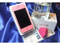 Stunning Brand New Pink iPhone 4s 16Gb on EE