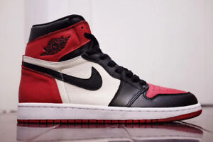 Looking for Jordan 1 Bred toes size 9 for My Black cement  8.5