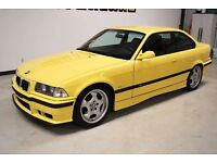 BMW E36 M3 Dakar Yellow **WANTED**