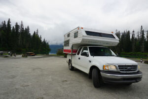 2003 Ford F150 with truck camper