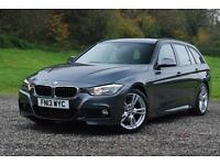 BMW 3 SERIES 320D M SPORT TOURING - ESTATE, MANUAL, Grey, Manual, Diesel, 2013