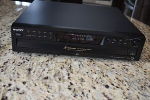 Sony CDP-CE375 5 CD Changer Disc Exchange System