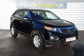2012 Kia Sorento 2.2 CRDi KX 2 5dr 7 seater with leather full dealer history ...