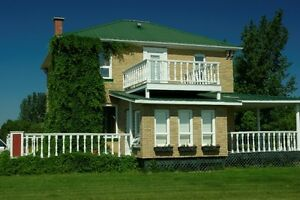 Acreage turn of the century two storey-totally renovated!