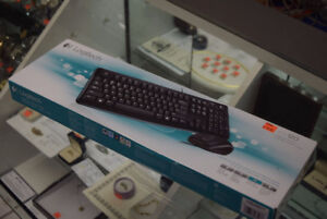 Logitech mk120 Keyboard + Mouse Set