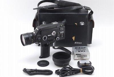 【C Normal】 Nikon R10 SUPER 8mm Movie Camera w/Cine-NIKKOR 7-70mm f/1.4 Y3487
