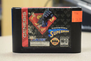 The Death And Return Of Superman For Sega Genisis (#156)