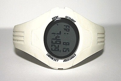 NWT Adidas Women's Watch Performance FURANO WHITE Resin Digital ADP6015 $95