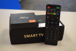 X96 Smart 4K Android TV Box w/ Box, Remote & Cables