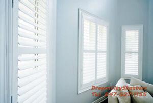 WINDOW BLINDS & SHUTTERS FOR SALE 647-327-1155