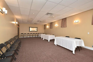 CONFERENCE & BANQUET SPACE NOW AVAILABLE IN ALLISTON!!