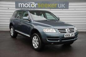 2006 Volkswagen Touareg 2.5 TDI SE Sport 5dr Auto with black leather full his...