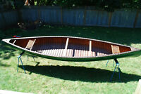 Cedar/Canvas Canoe For Sale