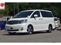 2006 (56) TOYOTA ALPHARD MS Premium Selection 3.0 V6 Automatic DVD Player 8 Seat
