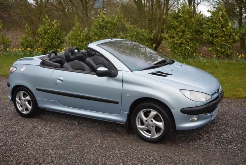 peugeot convertible 206 cc 3dr quick sell 695 in kidderminster worcestershire gumtree. Black Bedroom Furniture Sets. Home Design Ideas