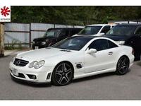 2003 (03) Mercedes-Benz SL 55 AMG V8 Kompressor Alabaster White LEFT HAND DRIVE
