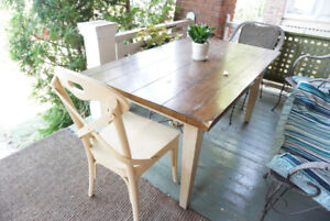 BARGAIN - Table with set of 4 chairs JUST $40
