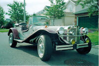 1929 Mercedes Gazelle, kit car  PRICE REDUCED FOR QUICK SALE
