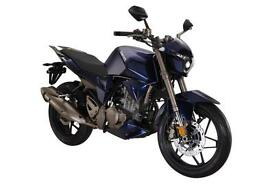 ZONTES PHANTOM S250 SPORTS MOTORCYCLE, NEW, FINANCE AVAILABLE, 2 YEAR WARRANTY