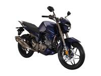 ZONTES PHANTOM S250 SPORTS MOTORCYCLE, NEW, FINANCE AVAILABLE, 2 YEAR WARRANTY