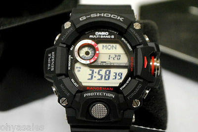 Купить Casio G-Shock Rangeman - Casio G-Shock Rangeman Master of G Stainless Steel Solar Watch 9400 GW9400-1CR