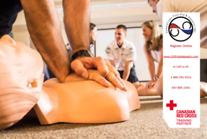 Coast2Coast Offers Red Cross First Aid/CPR  - Hamilton