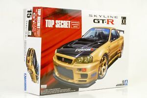 2002-NISSAN-SKYLINE-GT-R-R34-TUNING-Top-Secret-Kit-Construccion-1-24-AOSHIMA-15
