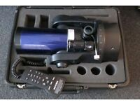 Meade ETX-105 UTHC Auto-Star Telescope with hard case and field tripod. Fantastic scope!