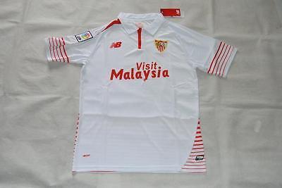 Sevilla Home Soccer Jersey 2015-16 NWT