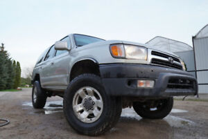 2000 Toyota 4Runner SR5 Manual