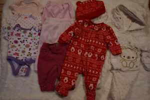 Baby clothes lot 0-3 month