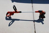 Black and Decker Rechargable lawn mower and Weed eater