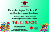 Formation aide éducatrice