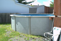 21ft Above ground Pool For sale!