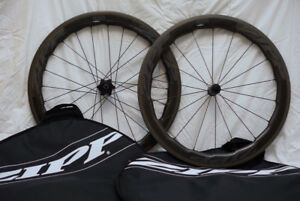 Zipp 454 NSW Carbon Clincher rim brake wheelset for Shimano 11sp