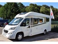Carado T339 Manual Motorhome, 4 seatbelts, fixed island bed, air con & solar pan