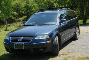Rare 2004.5 Volkswagon Passat Wagon 4 Motion AWD from B.C.!