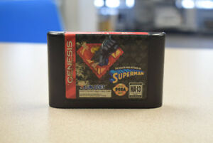 The Death and Return of Superman for Sega Genesis - RARE
