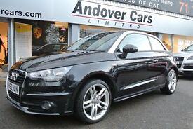 Audi A1 1.6 TDI S LINE 105PS (black) 2012