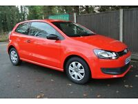 Volkswagen Polo 1.2 S A/C 60PS (red) 2012
