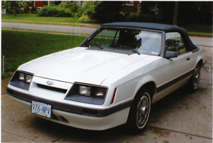 Classic, well maintained and all original 85 Mustang Convertible