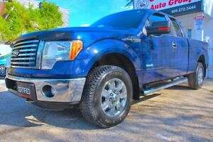 2012 Ford F-150 XLT XTR Ecoboost Supercab Chrome Back Cam 4WD