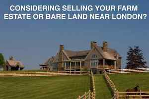 Land or Farm close to London - to buy or build