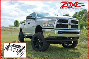 Zone Offroad - 6.5'' Radius Arm Suspension 2014-17 Ram 2500