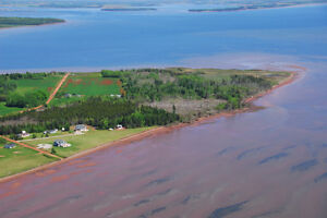 536 Ives Miscouche 114 Acres Waterfront with FREE HOME PEI