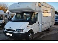 2002 BUCANNEER CLIPPER 4 BERTH FAMILY MOTORHOME FOR SALE