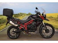 Triumph Tiger XC ABS **Top Box, Heated Grips, Hand Guards, Datatag, ABS